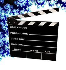 Clapperboard Filmklappe Regieklappe 20 x 18 cm Film Slate Regie-Klappe Klappe