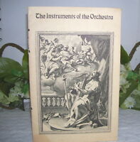 THE INSTRUMENTS OF THE ORCHESTRA VESUVIUS CRUCIBLE CO BOOKLET