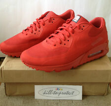 (utilizzato) NIKE AIR MAX 90 HYPERFUSE USA RED US8 UK7 indipendenza 613841-660 2013