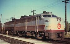 """ The Beav "" Canadian Pacific ALCO, Beaver Herald Tuscan Railroad Train Postcard"