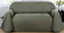MATRIX THROW COVER FOR EXTRA LONG SOFA--BLUE-ALSO COMES IN GREYISH GREEN & BROWN