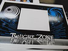 Twilight Zone Pinball Coin Door Decal New NEXT GENERATION PRINTING : Mr Pinball