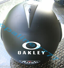 STICKER AUTOCOLLANT OAKLEY CASQUE MOTO SCOOTER VELO QUAD TUNING AUTO