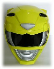 MIGHTY MORPHIN POWER RANGERS YELLOW POWER RANGER HELMET COSTUME