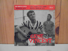 Gene Vincent  French 45 EP BE BOP A LULA RARE RED LABEL & BACK COVER NICE COND !