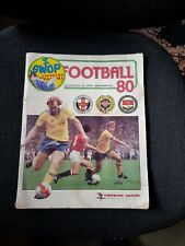 PANINI DE FOOTBALL 80 album avec autocollants environ 75% complet