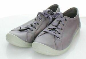 S14 NEW $130 Women's Sz 8.5 M Keen Lorelai Leather Sneaker In Shark