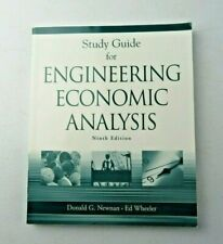 Study Guide for Engineering Economic Analysis 2004 paperback book GOOD