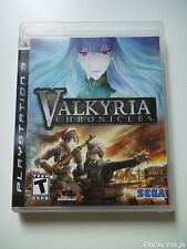 SONY PLAYSTATION PS3 / Valkyria Chronicles [ Version NTSC Americaine ]