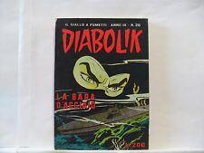 ## DIABOLIK Anno IX Nove n. 20 del 1970 Originale Buono / Ottimo !!!