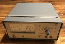 HF-Millivoltmeter URV3 von Rohde & Schwarz + HF Tastkopf + Durchgangskopf URV-Z2