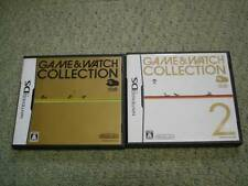 Club Nintendo Limited Ds Game & Watch Collection 1 & 2 set Nds Japan F/S