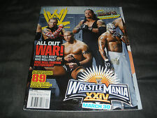 Wwe Magazine April 2008 Wrestlemania 24 Randy Orton Jeff Hardy Wwf Wrestling