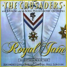 The Crusaders/B.B. King/R.P.O. Royal Jam Live CD NEW SEALED Jazz Street Life+