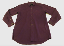 Dockers Mens 15.15.5 34-35 Faded Purple Microfiber Blend Shirt Great Condition