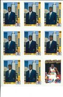 Lot of (45) Dikembe Mutombo Basketball Cards w/ Rookie RC Cards - NBA - Nuggets