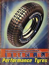 vintage garage PIRELLI rotelle in gomma, 19 MOTORSPORT CORSA Annuncio,