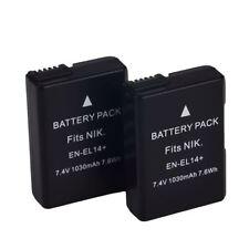 Battery for Nikon EN-EL14 EN EL14 D3100 D3200 5100 5200 5300 D Coolpix P780 X5H8