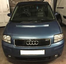 AUDI A2 1.4 AUA Engine 2000 2005 breaking all parts available atlantik blue LZ5R