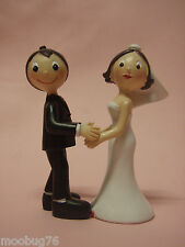 FUNNY COMICAL BRIDE & GROOM COUPLE WEDDING BRIDAL CAKE TOPPER PARTY DECORATION