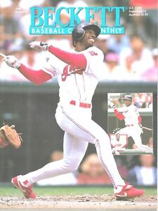 Beckett Baseball Monthly Magazine June 1995 #123 Kenny Lofton Michael Jordan