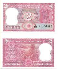 INDIA 2 Rupees (Error Note - Incorrect Urdu) 1970, Pick 56a, UNC *RARE*