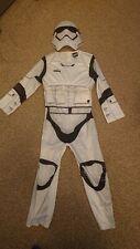 Boys Stormtrooper Costume Kids Disney Star Wars Fancy Dress Outfit Licensed