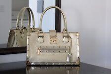 100% Authentic Louis Vuitton Gold Suhali Le Fabuleux Handbag RARE!!