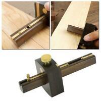 Portable] Wood Work Scraper Tools Marking Mortise Gauge Scribe Ebony H4J9