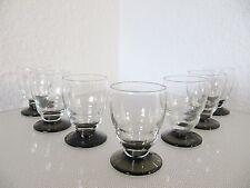 7 seltene ART DECO LIKÖRGLÄSER - art deco glasses