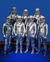 New 11x14 NASA Photo: The Original Mercury Seven Astronauts in Space Suits, 1959