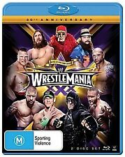 WWE WrestleMania 30 Blu-Ray (2 Discs)