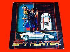 Large Spy Hunter Arcade Video Game Banner Flag Poster