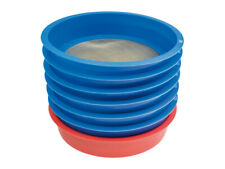 7 Piece Stackable Enamel Sifting Set, 60 To 325 Mesh