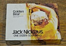 JACK NICKLAUS GOLDEN BEAR Golf Balls - Box with 7 - Two Sleeves Never Opened
