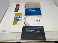 2013 Kia Rio Owners Manual Handbook Set OEM Z0B0664