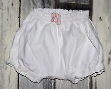 ~ Superbe Short en coton blanc SERGENT MAJOR fille 3 mois ~