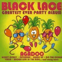 Black Lace - Greatest Party Album Ever - NEW CD Agadoo, YMCA, Macarena, Timewarp