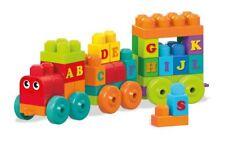 Mega Bloks DXH35 ABC Alphabet Train