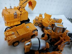 Moonio 5 In 1 Transtruck Transforming Die Cast Collection Robot Titans For Kids