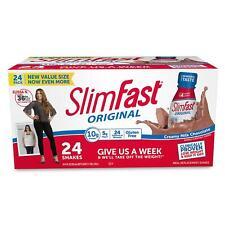 SlimFast Creamy Milk Chocolate Shake (11 fl. oz. bottles, 24ct.)