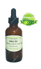 Emu Oil Pure Moisturizing For Face Skin Hair Stretch Marks Fully Refined 2 Oz
