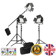 VNIX1000S Interview Youtube Tutorial LED Video Lighting Kit CRI>90 5500K DMX