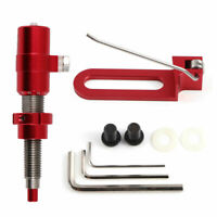 Archery Red Cushion Plunger Screw&Arrow Rest Aluminum Adjustable for Recurve Bow