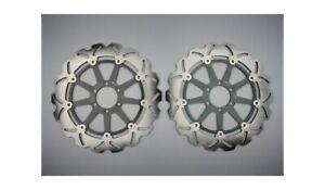 Pair of AVDB Front Wave Brake Discs 320mm BIMOTA DIECI BIPOSTO 1000 1992-1995