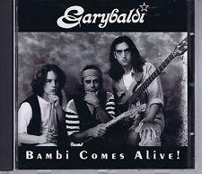 GARYBALDI bambi comes alive - rare CD originale Mellow mmp 174 (1993) prog