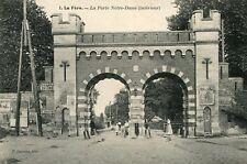 Carte LA FERE La Porte Notre Dame Intérieur Les affiches diverses
