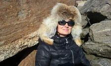 """100% Real FOX FUR HAT for Men and Women.NEW STYLE """"Mountain Man"""""""