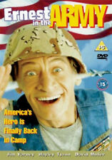 ERNEST IN THE ARMY DVD Jim Varney Hayley Tyson John Cherry UK Rele New Sealed R2