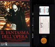 VHS IL FANTASMA DELL' OPERA (Robert Markowitz) RARA (Ex Noleggio) no dvd horror